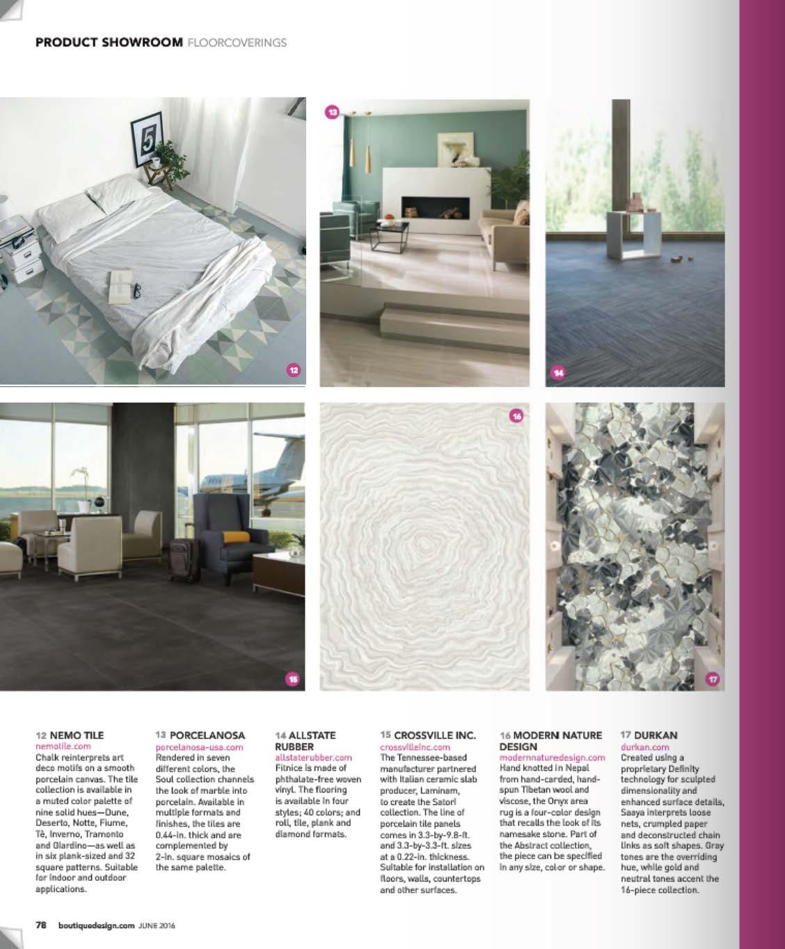 Boutique Design Chalk Feature | Press | Nemo Tile & Stone