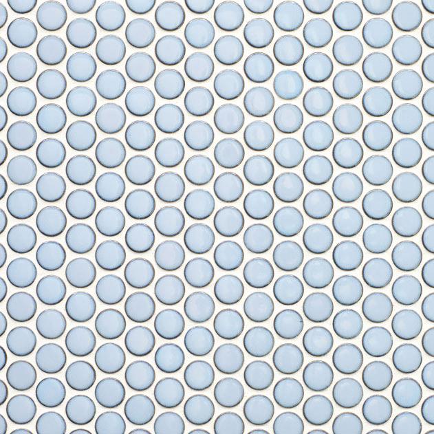 Glazed Pennyround Collection Nemo Tile Amp Stone Glazed